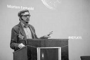 Morten Fastvold på Human-Etisk Forbunds landskonferanse 2015.