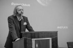 Øyvind Olsholt på Human-Etisk Forbunds landskonferanse 2015