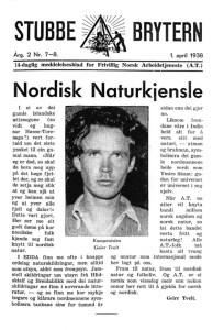 Komponisten Geirr Tveitt var hedensk nazist. I denne artikkelen oppviser han klassisk blod og jord-tenkning