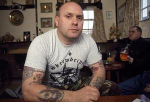 Ian Stuart Donaldson (1957-1993) var nazirockens gudfar.