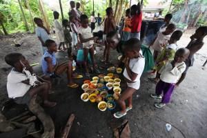 Fra et senter for barn beskyldt for å være hekser i Eket i Nigeria. Foto: NTB/Scanpix