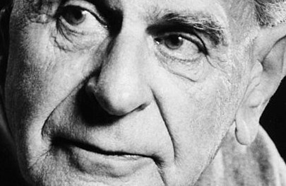 Karl Popper. Foto: Wikimedia Commons