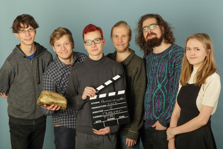 Traileri: Santeri Suvanto, Maarika Korhonen, Pyry Kuronen, Henrikki Pöntinen, Vertti Ruodemäki, Sointu Toiskallio, Niina Villman ja Timi Ritvasalo