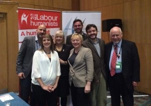 Speakers at the Labour Humanists event