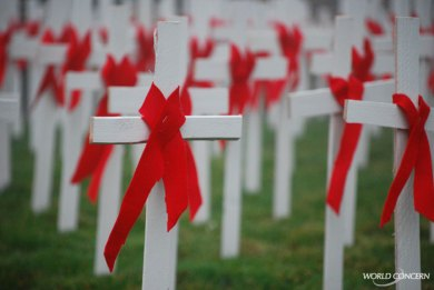 Humanitarian relief for world aids day