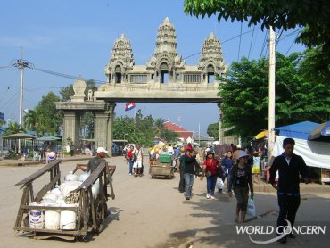 Humanitarian organization World Concern helps stop human trafficking at the border of Cambodia and Thailand.