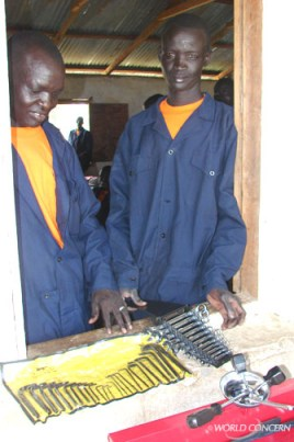 Vocational students in Sudan