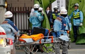 First responders in Japan.