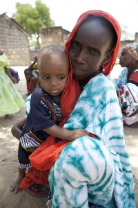 A mother and child in Eastern Kenya.