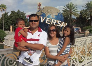 Thoeum Thaiy and family