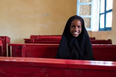 """""""In school we learned about hygiene—to wash our hands before we eat and to wear shoes when going to the toilets. It is good to do these things because if you don't wash your hands and then you eat something, you will probably get a disease."""" - Sahra, 12, student in grade 2"""