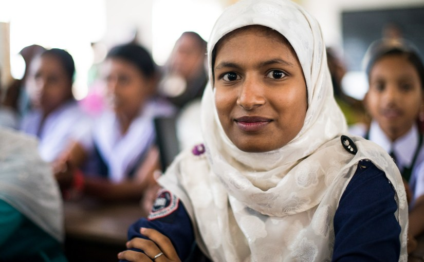 Students before brides – how scholarships are changing girls' lives in Bangladesh