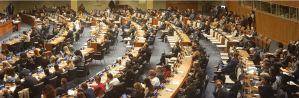 Delegates attend First Committee in New York