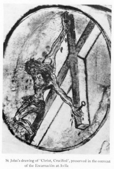 St John of the Cross sketching