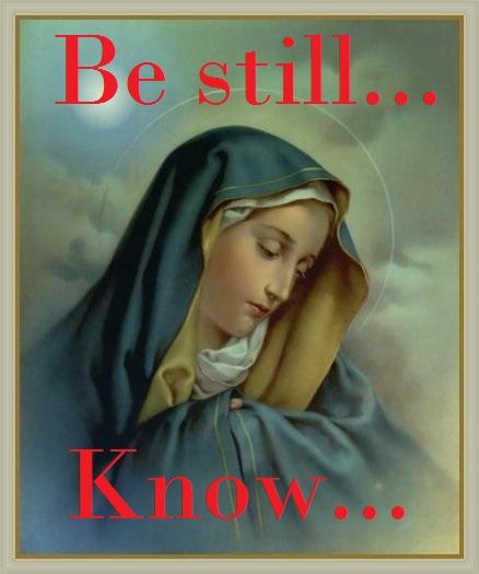 Mary Be still