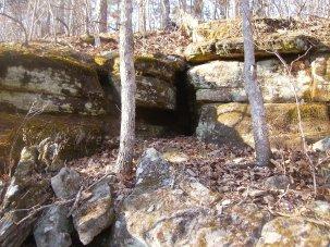 Hidden Abode, an Ozark alcove.