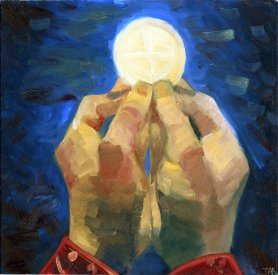 Eucharist by Okamihi