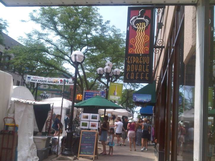 Downtown Ann Arbor, Michigan