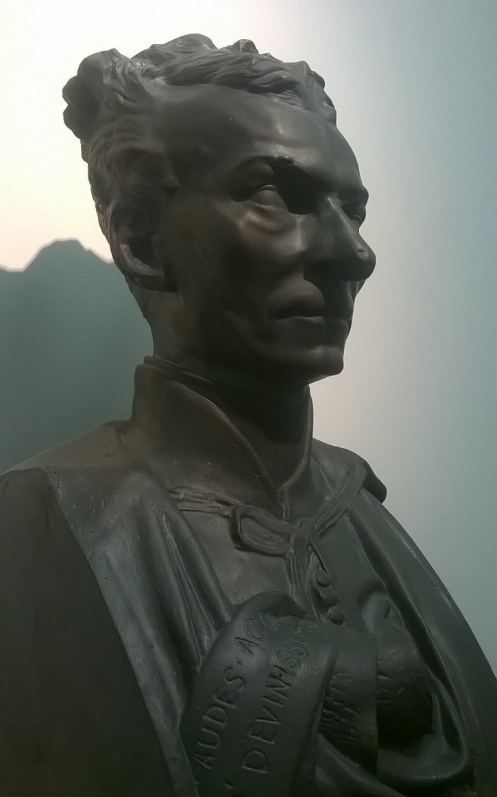 Bust, replica, of St Eymard done by his friend the famous sculptor Rodin, a man he encouraged to pursue his gift of creativity after the artist lost hope in his work.