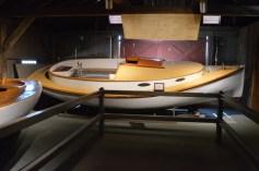 Wood sail boat