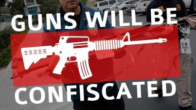 Guns confiscated