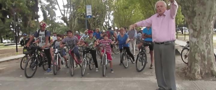 Mire el video de la bicicleteada por la vida que realizamos en City Bell