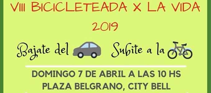VIIIª Bicicleteada por la Vida 2019