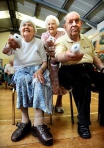 Elderly Wii players