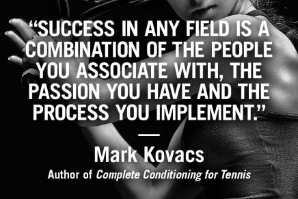 Inspiration from Human Kinetics author Mark Kovacs