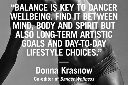 Dancer inspiration from Donna Krasnow