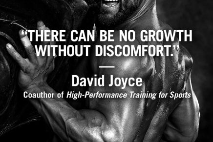 There can be no growth without discomfort – David Joyce