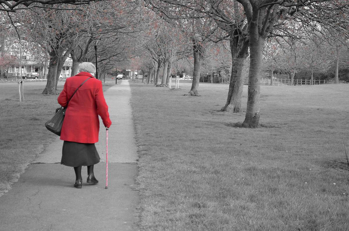 Walking up to one hour per week maintains mobility as older women age