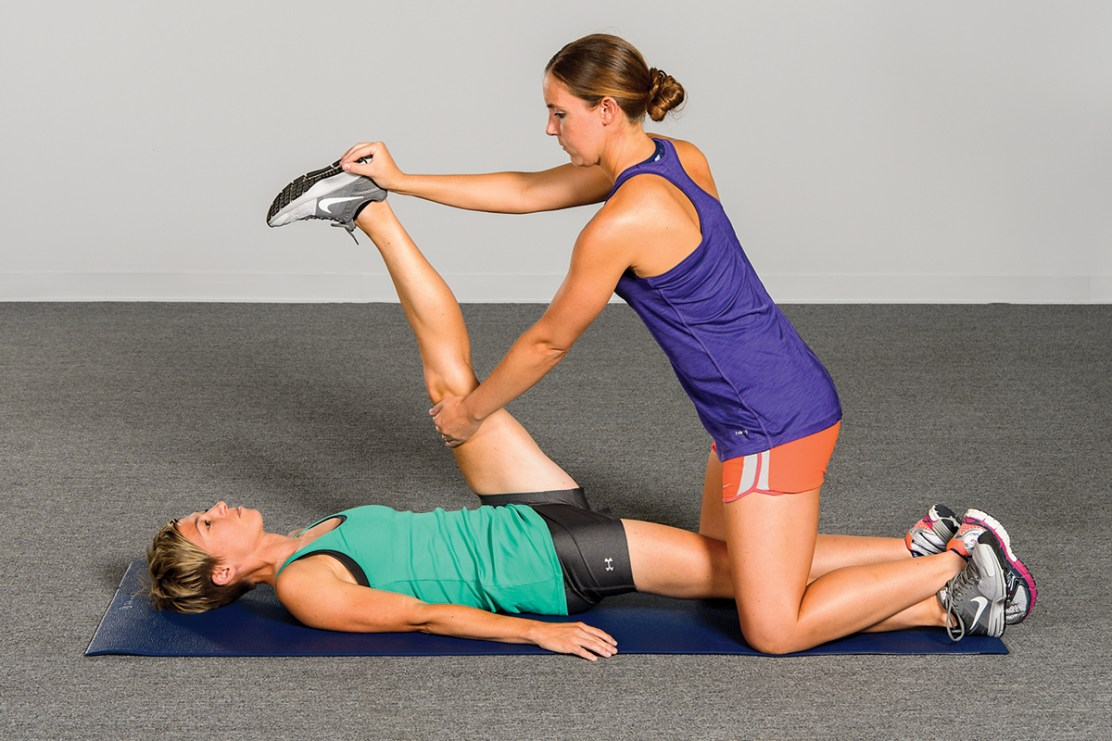 Hold-Relax with Agonist Contraction PNF stretching technique