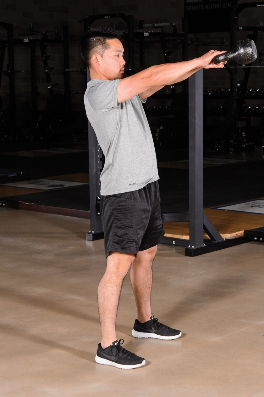 Kettlebell training: Different types of strength and power training