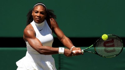 Vegan muscle Serena Williams