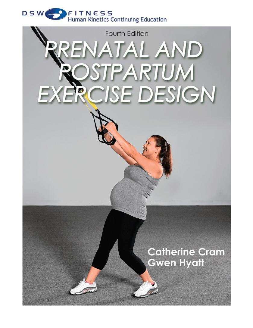 Prenatal and Postpartum Exercise Design