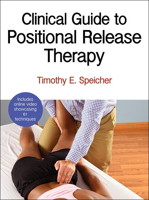 Clinical Guide to Positional Release Therapy - sports massage book