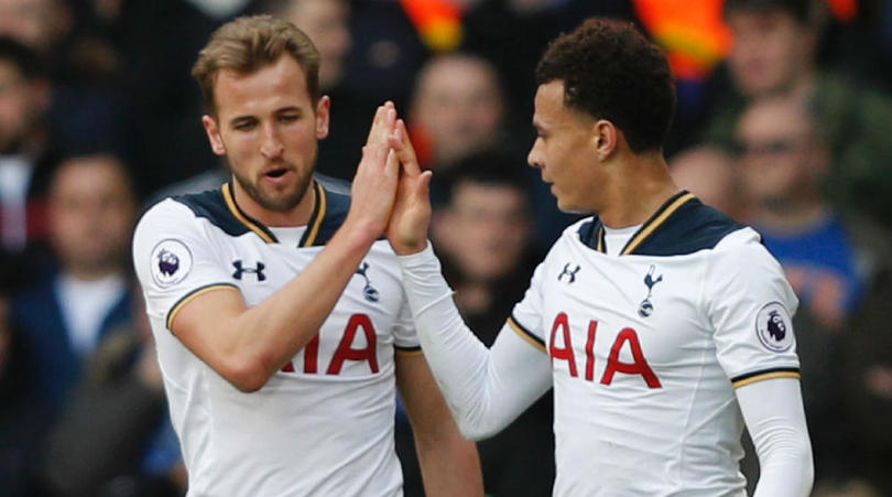 Most popular sports in Europe football Harry Kane Dele Ali