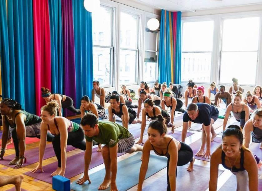 popular fitness class yoga