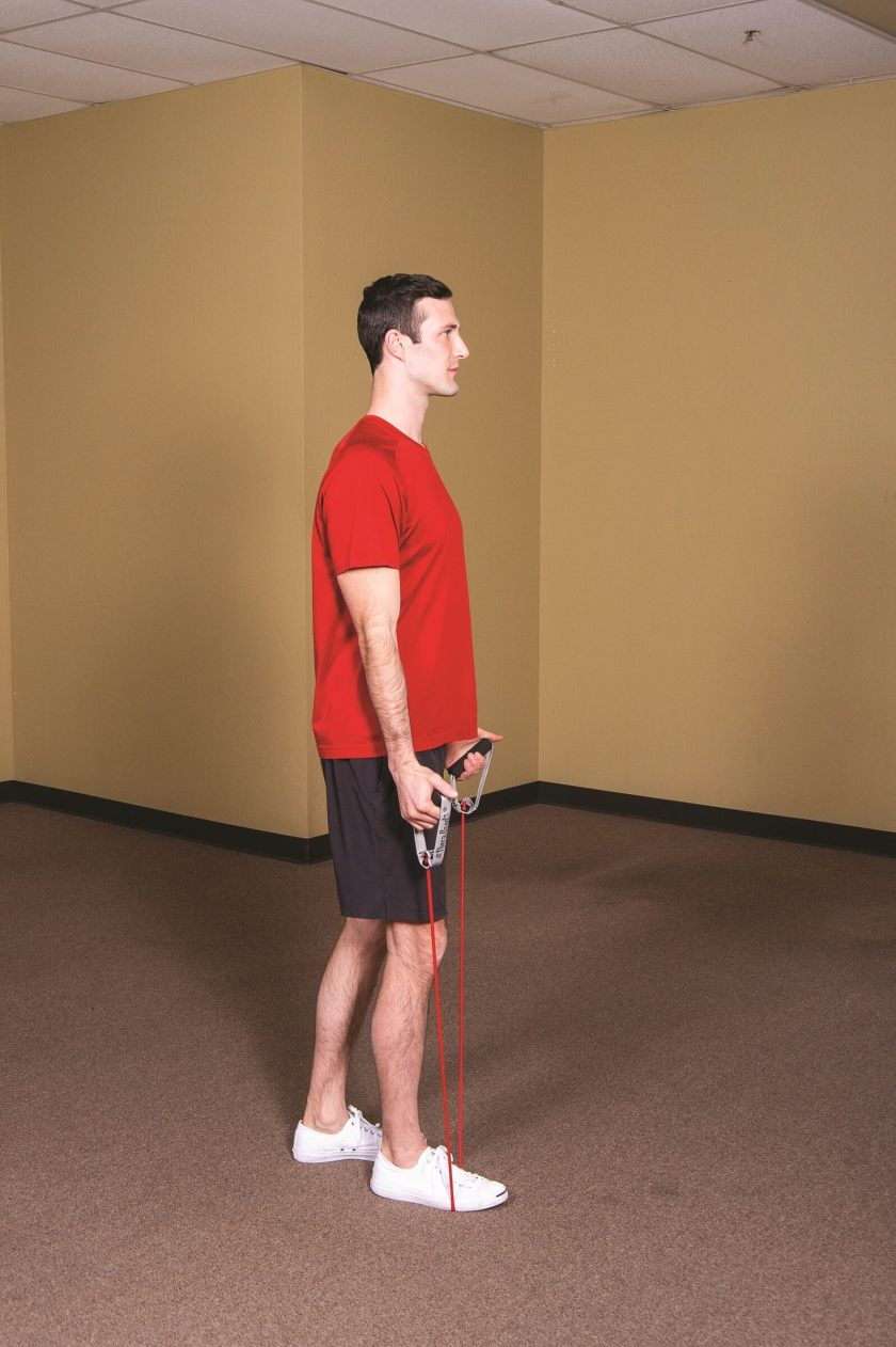 Best Resistance Band Workouts for Shoulders scaption a