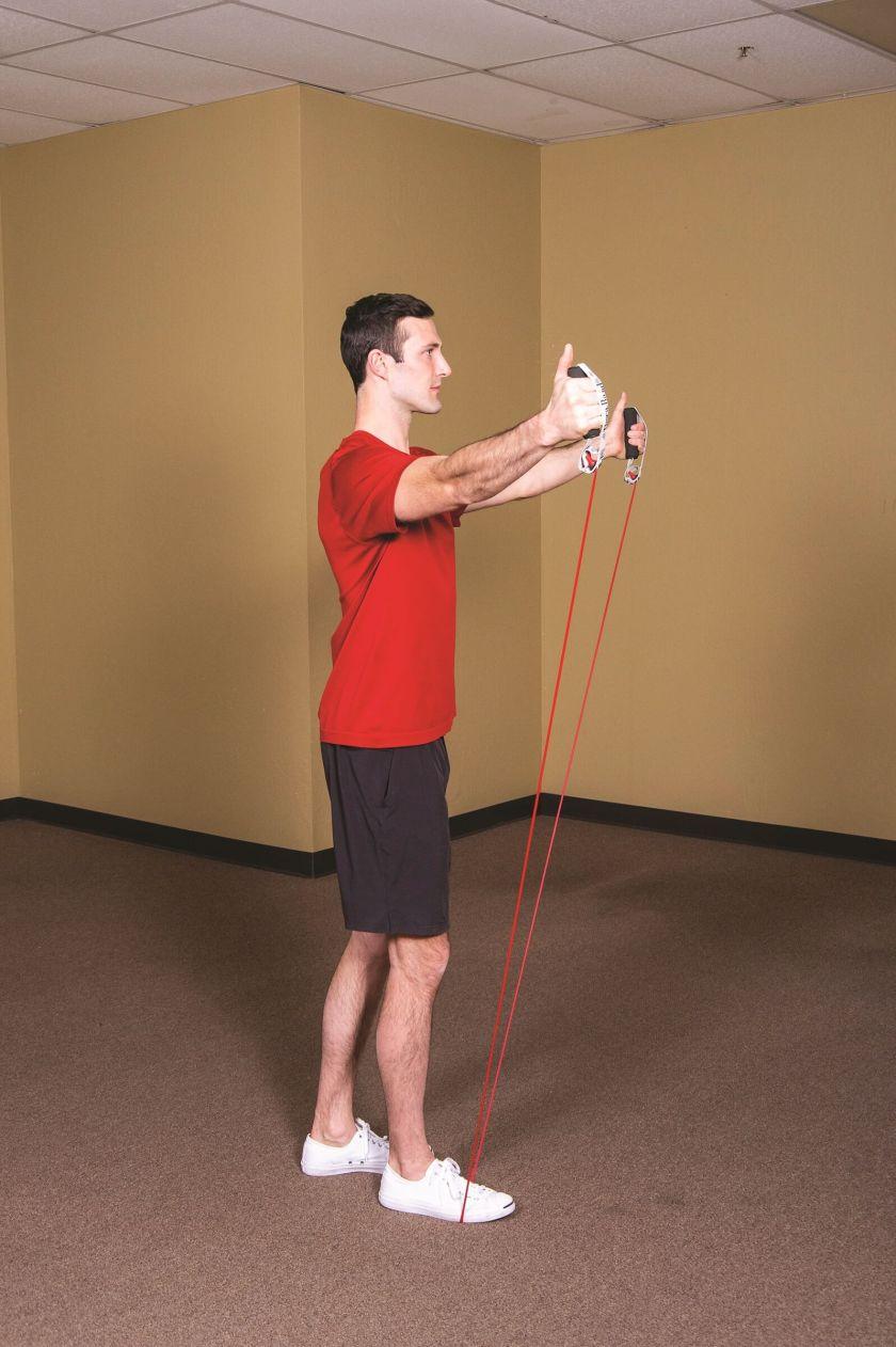 Best Resistance Band Workouts for Shoulders scaption b