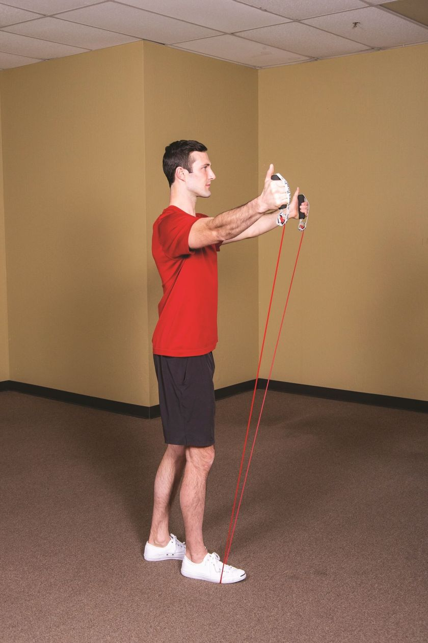 Best Resistance Band Workouts for Shoulders scaption b