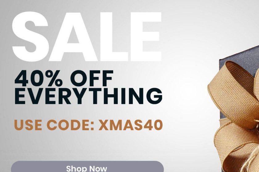 Christmas marketing feature artwork