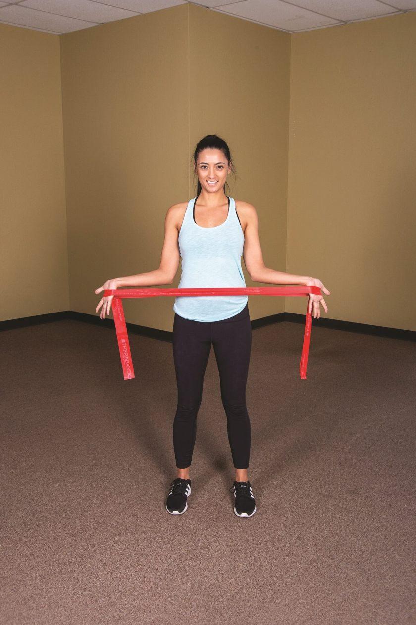 Shoulder exercise resistance band Upper Body Bruegger