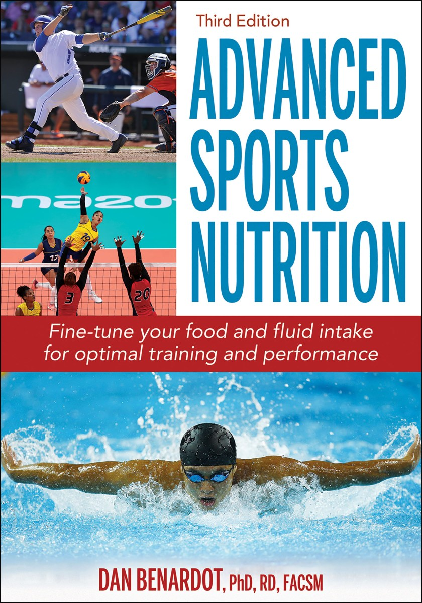 Advanced Sports Nutrition book cover