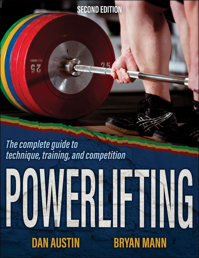 Powerlifting book cover