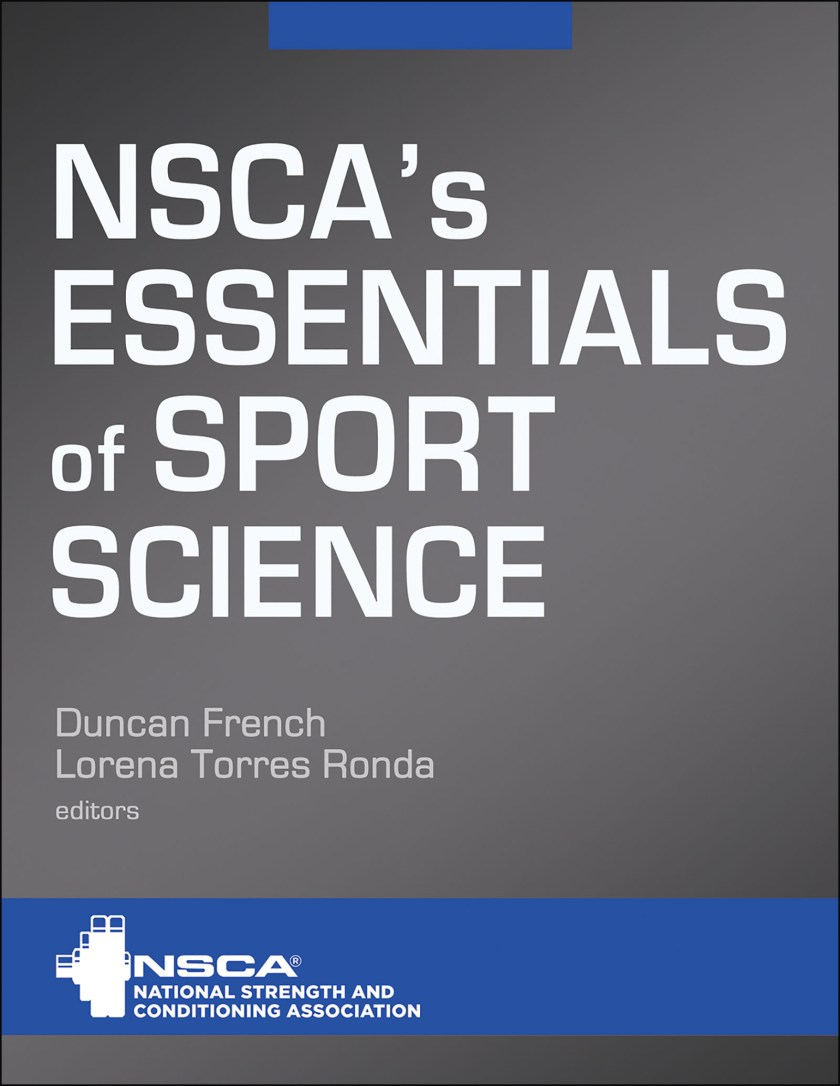 NSCA's Essentials of Sport Science book cover