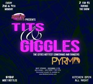 Tits & Giggles @ PYRMD