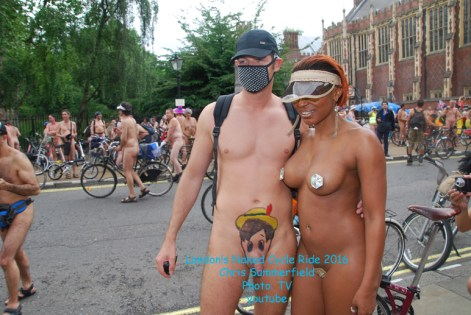 Londom!s Naked Cycle Ride 2016