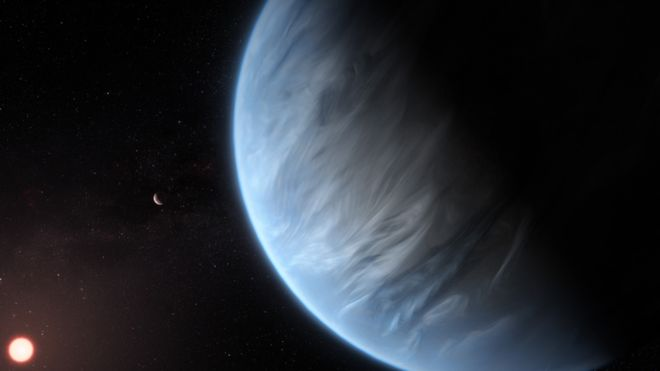 Water found for first time on potentially habitable planet